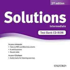 Solutions: Intermediate: Test Bank CD-ROM