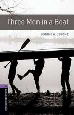Oxford Bookworms Library: Level 4:: Three Men in a Boat Audio Pack