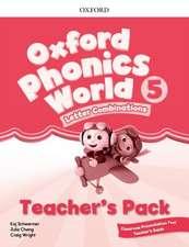 Oxford Phonics World: Level 5: Teacher's Pack with Classroom Presentation Tool 5