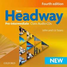 New Headway: Pre-Intermediate A2-B1: Class Audio CDs: The world's most trusted English course