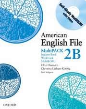 American English File Level 2: Student Book/Workbook Multipack B