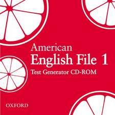 American English File Level 1: Test Generator CD-ROM