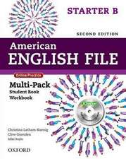 American English File: Starter: Multipack B with Online Practice and iChecker