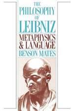 The Philosophy of Leibniz: Metaphysics and Language