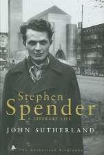 Stephen Spender