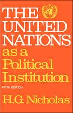 The United Nations as a Political Institution