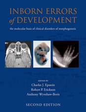 Inborn Errors of Development: The molecular basis of clinical disorders of morphogenesis