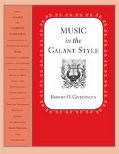 Music in the Galant Style