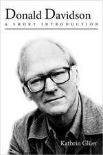 Donald Davidson: A Short Introduction