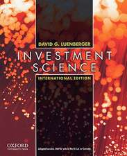 Investment Science: International Edition