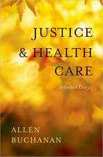 Justice and Health Care: Selected Essays