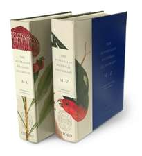 The Australian National Dictionary: Australian Words and Their Origins - 2 Volumes  A-L and M-Z
