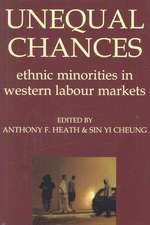 Unequal Chances: Ethnic Minorities in Western Labour Markets