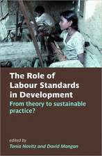 The Role of Labour Standards in Development: From theory to sustainable practice