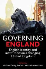 Governing England