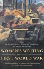 Women's Writing on the First World War
