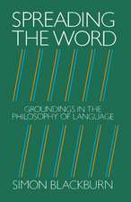 Spreading the Word: Groundings in the Philosophy of Language