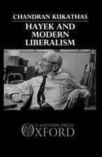 Hayek and Modern Liberalism