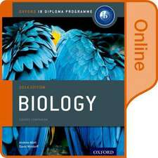 IB Biology Online Course Book: Oxford IB Diploma Programme