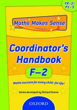 Maths Makes Sense: YF-2: Co-ordinator's Handbook
