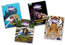 Project X CODE Extra: Green Book Band, Oxford Level 5: Jungle Trail and Shark Dive, Mixed Pack of 4