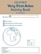 Oxford Very First Atlas Activity Book (Pack of 6)