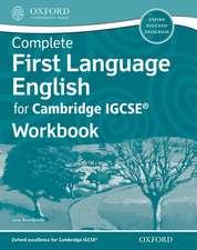 Complete First Language English for Cambridge IGCSE® Workbook