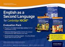 English as a Second Language for Cambridge Igcserg:  Evaluation Pack