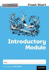 Read Write Inc. Fresh Start: Introductory Module