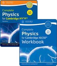 Complete Physics for Cambridge IGCSE® Student Book and Workbook Pack