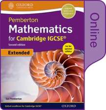 Pemberton Mathematics for Cambridge IGCSE® Online Student Book (Extended)