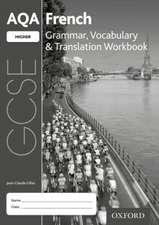 AQA GCSE French: Higher: Grammar, Vocabulary & Translation Workbook: (pack of 8)
