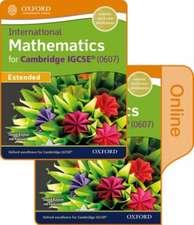 International Maths for Cambridge IGCSE Print & Online Student Book