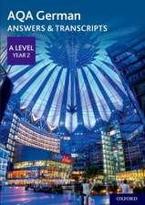 AQA German A Level Year 2  Answers & Transcripts