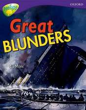 Oxford Reading Tree: Level 11A: TreeTops More Non-Fiction: Great Blunders