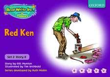 Read Write Inc. Phonics: Purple Set 2 Storybooks: Red Ken