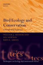 Bird Ecology and Conservation: A Handbook of Techniques