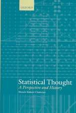 Statistical Thought: A Perspective and History