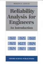 Reliability Analysis for Engineers: An Introduction
