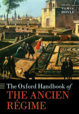 The Oxford Handbook of the Ancien Régime