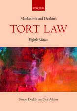 Markesinis & Deakin's Tort Law