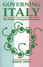Governing Italy: The Politics of Bargained Pluralism