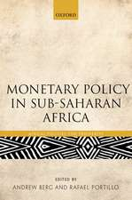 Monetary Policy in Sub-Saharan Africa