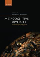 Metacognitive Diversity: An Interdisciplinary Approach