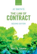 JC Smith's The Law of Contract