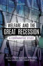 Welfare and the Great Recession: A Comparative Study