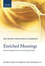 Enriched Meanings