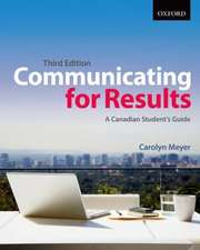 Meyer:  Communicating for Results 3e P
