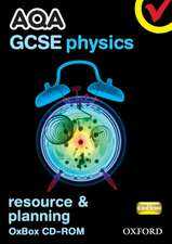 AQA GCSE Physics Resources and Planning OxBox CD-ROM