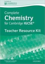 Complete Chemistry for Cambridge IGCSE®: Teacher's Resource Pack